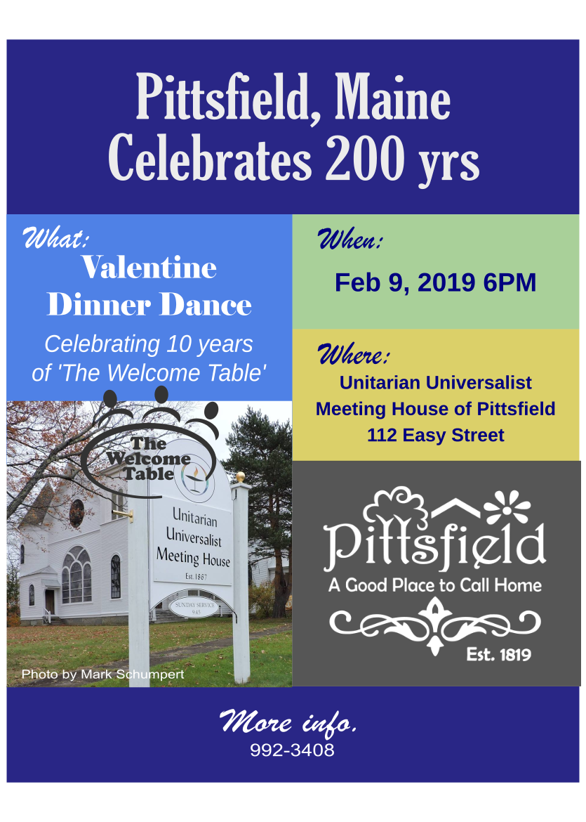 Events Calendar - Town of Pittsfield, Maine
